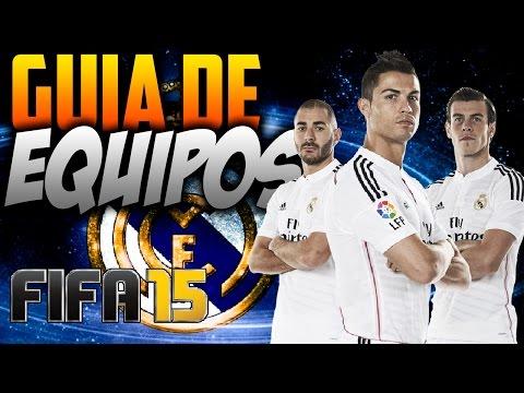 FIFA 15 | COMO JUGAR CON EL REAL MADRID | Guía de Equipos | Formación/Jugadores Importantes/Gameplay