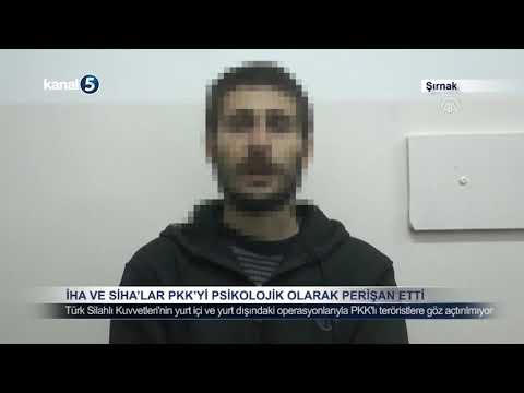 İHA ve SİHA'lar PKK'yı Psikolojik Olarak Perişan Etti
