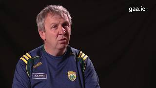 Peter Keane, The Kerry Senior Football Manager looks ahead to playing Clare this weekend
