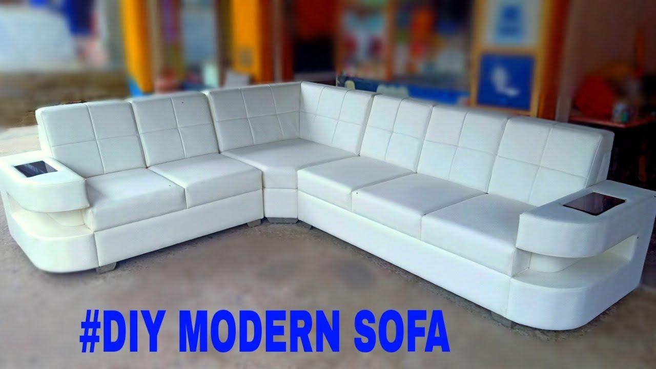 #DIY modular sofa how to make a modern sofa