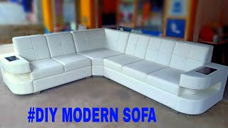 #DIY modular sofa how to make a modern sofa