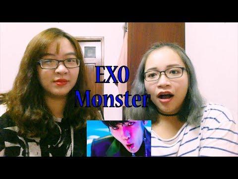 212eact: EXO - Monster MV Reaction