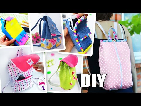 DIY AWESOME BACKPACK HANDMADE STEP BY STEP TUTORIAL