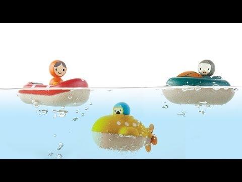 Speed Boat, Coastguard Boat and Sunmarine