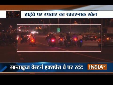 Mumbai Biker Gang: 100s of Bikers Caught Teasing Police on Western Express Highway