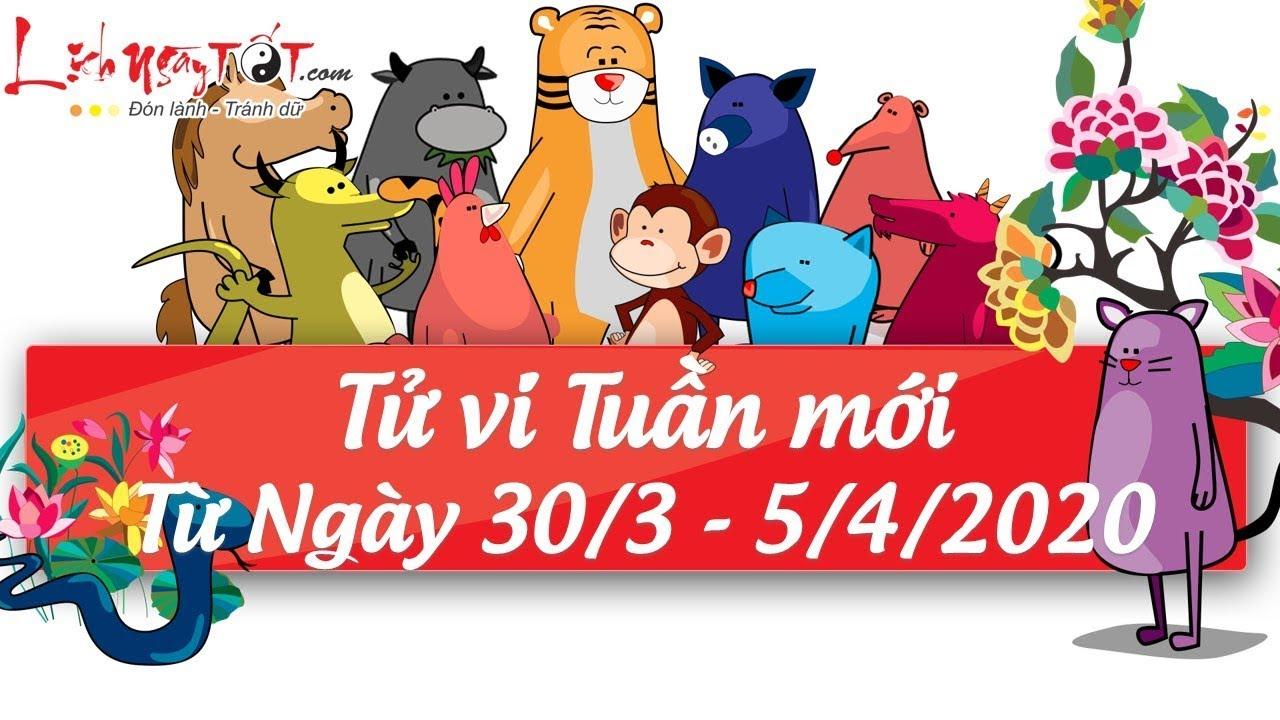 Xem tử vi hàng ngày - Tử vi tuần mới từ ngày 30 tháng 3 đến ngày 5 tháng 4 năm 2020 của 12 con giáp