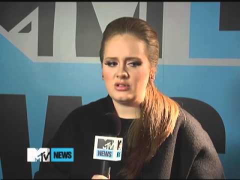 Adele Addresses Her Somber Songwriting MTV News, 2011