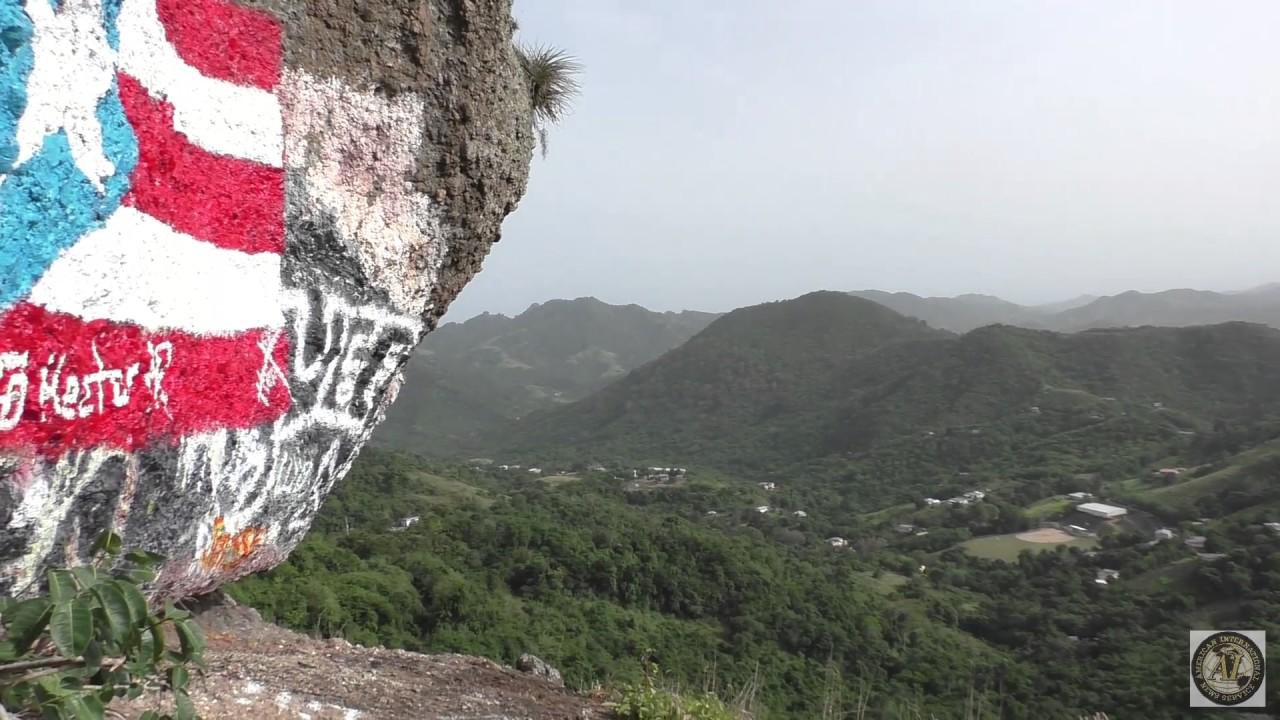 Subiendo piedra mont en aibonito puerto rico hector pr youtube - Baneras de piedra ...