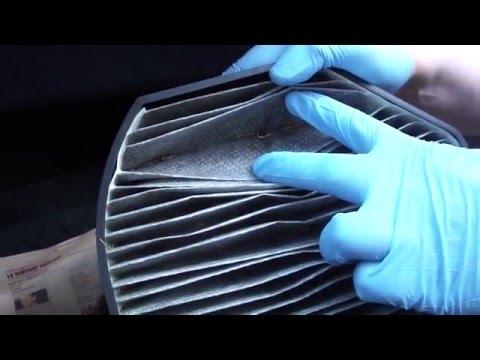 Замена салонного фильтра Mercedes W210 Air Cabin Filter Replacement