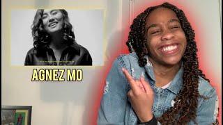 AGNEZ MO - PROMISES lyrics *REACTION*