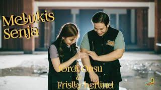 Budi Doremi- Melukis Senja (Lyrics Video Jordi Onsu & Frislly Herlind)
