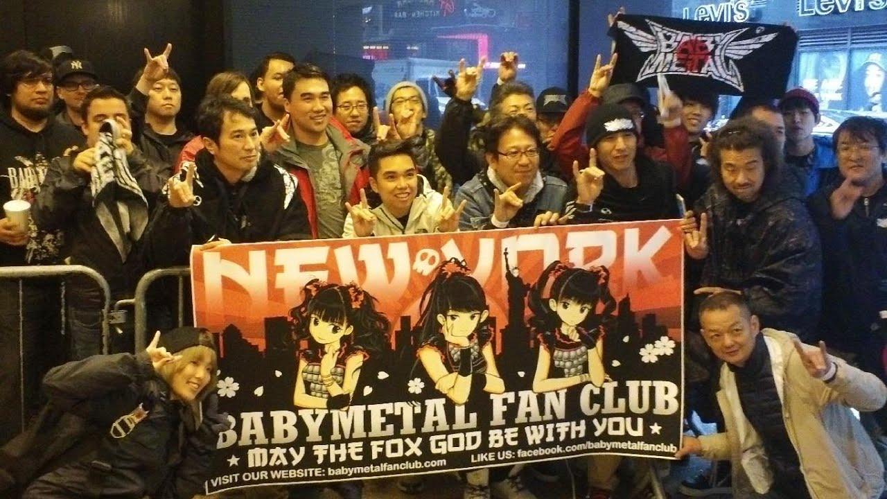 BABYMETAL Fan Club @ Playstation Theater, New York