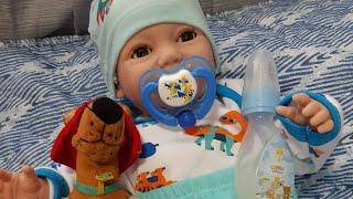 Rotina da noite do baby Miguel