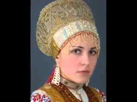 Русская народная одежда почти забытая красота