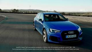 The all-new Audi RS4 Avant