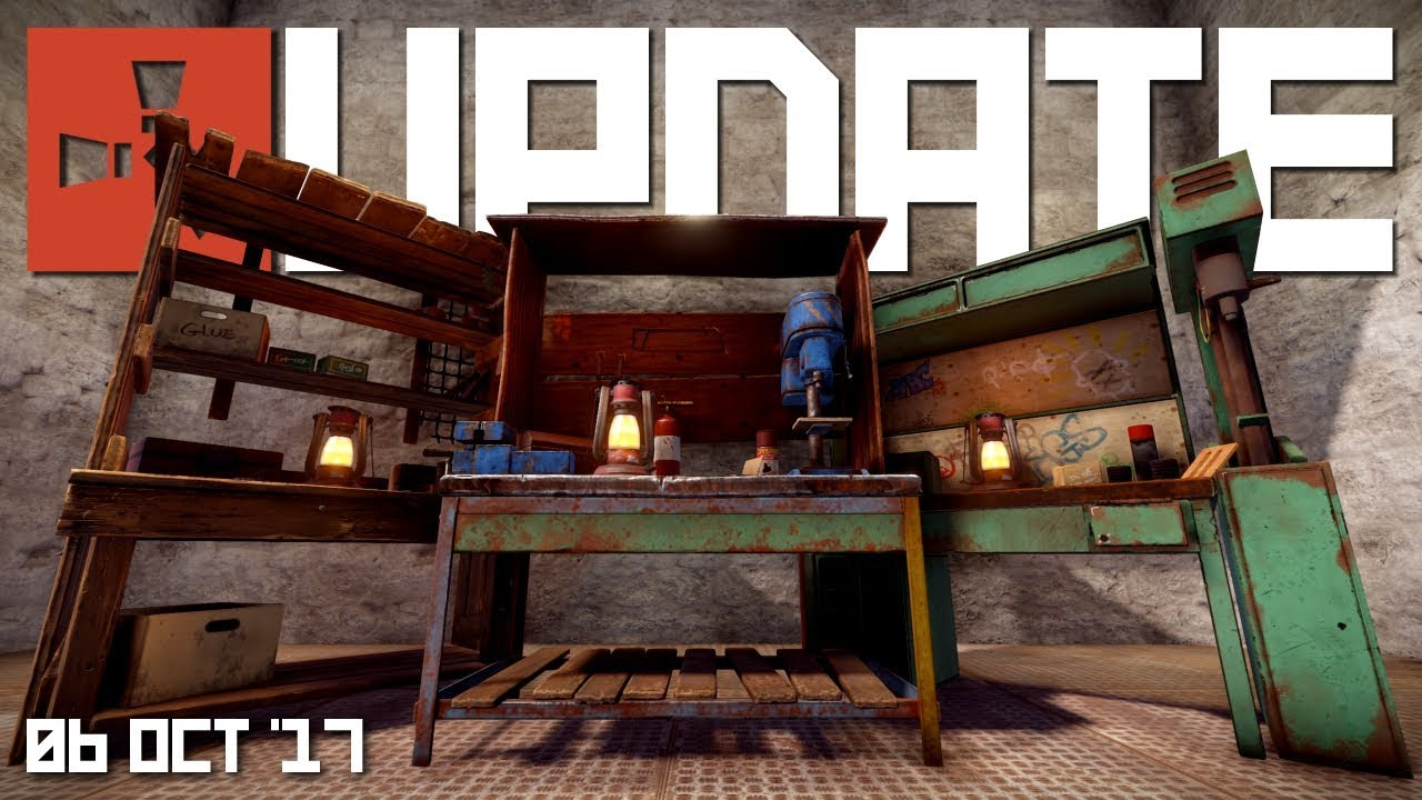 Workbenches and blueprints rust update 06th october 2017 youtube workbenches and blueprints rust update 06th october 2017 malvernweather Gallery