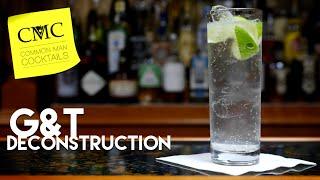 Gin & Tonic Dekonstruktion: Q Tonic, Schweppes & Soda Stream