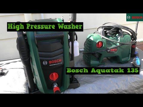 Bosch Universal Aquatak 135 High Pressure Water Cleaner