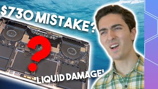 Intentionally buying a mysterious 'liquid damaged' MacBook Pro!