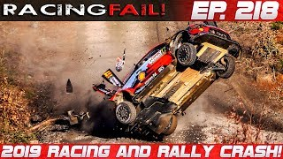 Racing and Rally Crash Compilation 2019 Week 218