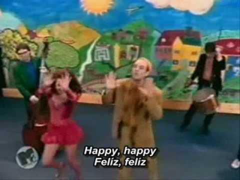 R.E.M. - Shiny Happy People (lyrics/letras)