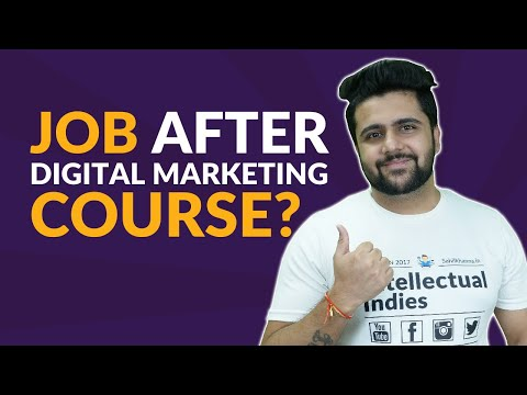 How to Get Digital Marketing Job?