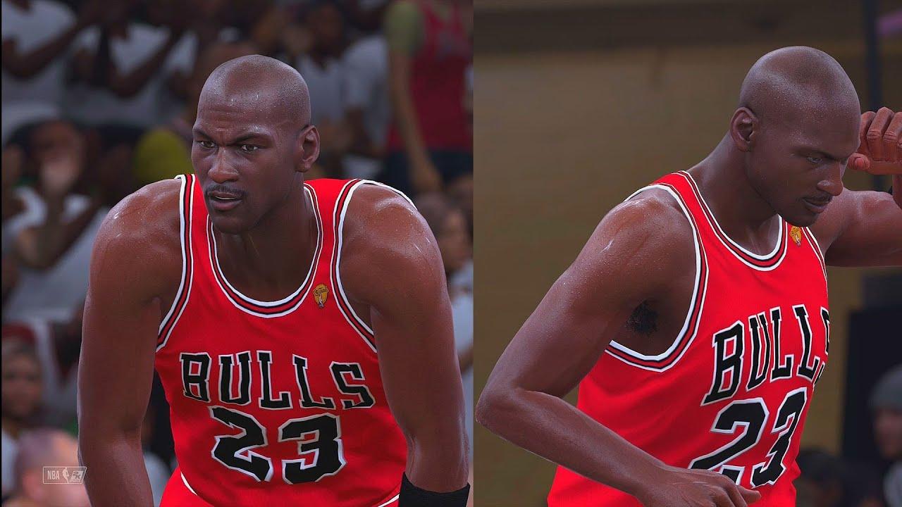 NBA 2K18 - 1998 NBA FINALS JAZZ VS BULLS - YouTube