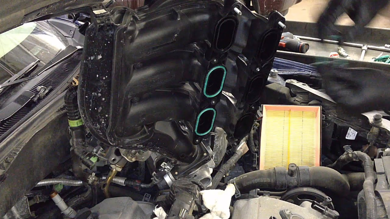 ford fusion  dohc upper intake gaskets youtube