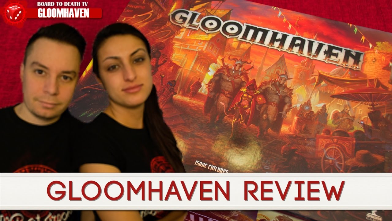 Gloomhaven Second Printing By Isaac Childres Kickstarter