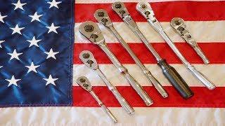 Craftsman USA Ratchet History: Tear Drop Professional Full Polish Ratchets