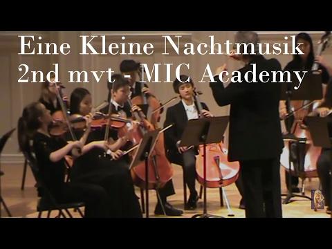 Eine Kleine Nachtmusik, 2nd mvt - MIC Academy Orchestra