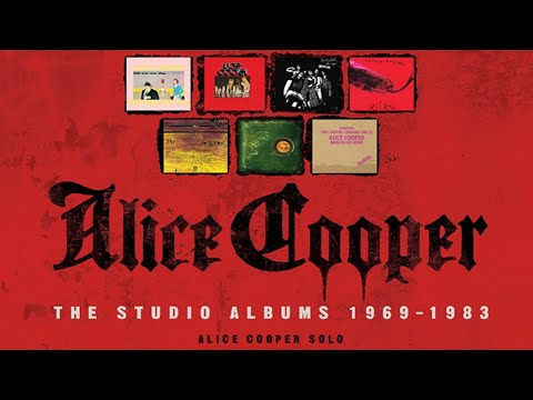 Alice Cooper The Studio Albums 1969 - 1983 Unboxing from YouTube · Duration:  13 minutes 30 seconds