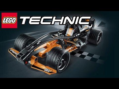 🚘 ЛЕГО ГОНКИ Игра как МУЛЬТИК про машинки Lego Pull-Back Racers / LEGO Technic