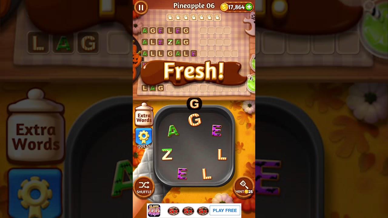 Word Cookies Pineapple 6 | Word Cookies Answers - YouTube
