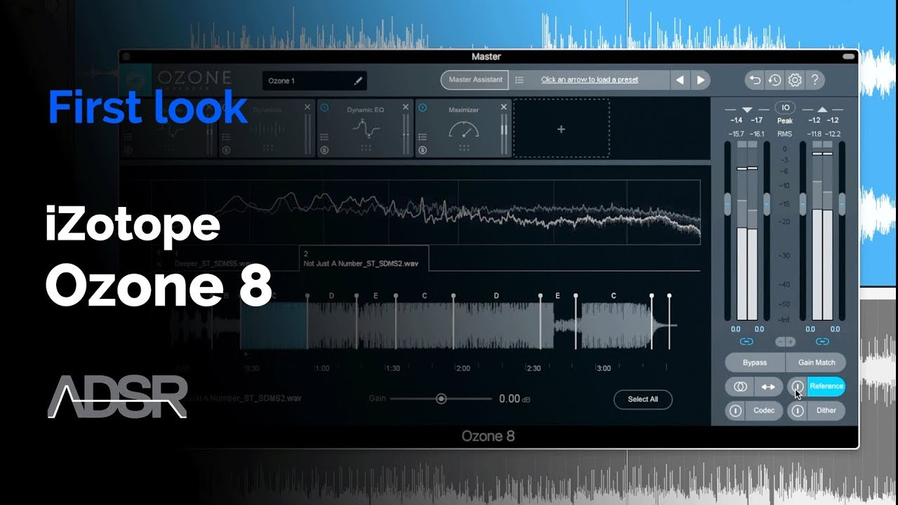 iZotope Ozone 8 - First Look