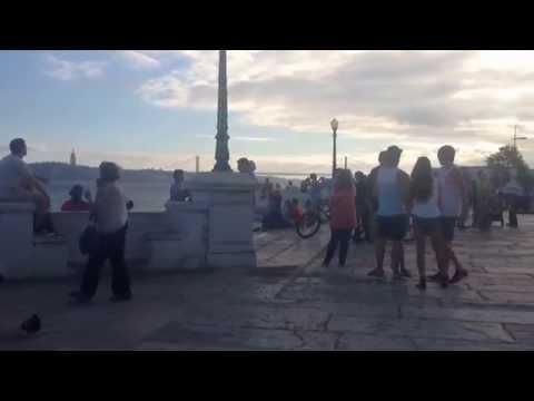 Praça do Comércio in Lisbon (Lisboa) in Portugal (Terreiro do Paço)