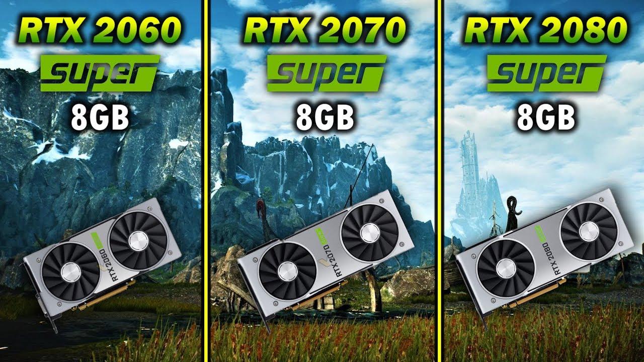 RTX 2060 SUPER vs RTX 2070 SUPER vs RTX 2080 SUPER | Core i9 9900K Gameplay Benchmark Test