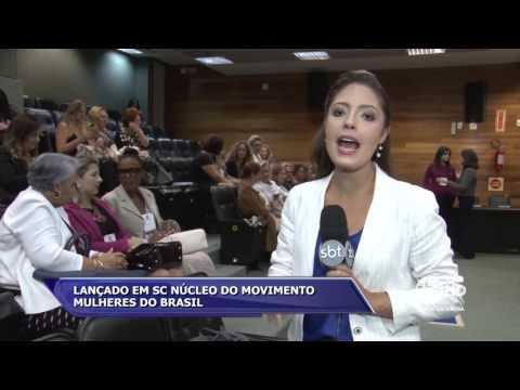 Lançada em SC núcleo do movimento Mulheres do Brasil