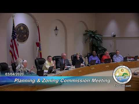 Planning And Zoning Commission Meeting — 3/04/2020 - 6:00 P.m.