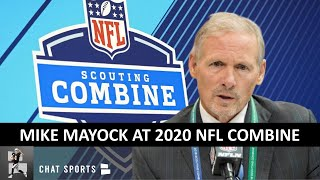 Las Vegas Raiders' GM Mike Mayock's FULL Press Conference At The 2020 NFL Combine