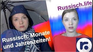 Russisch: Monate und Jahreszeiten