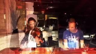 T-Trider & Max Faustus (violin) - Ghetto Funk Live @ Muscat Bar