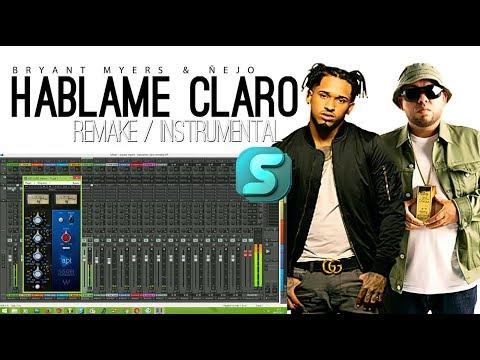 Bryant Myers Ft. Ñejo - Hablame Claro (Instrumental/Remake/Karaoke)