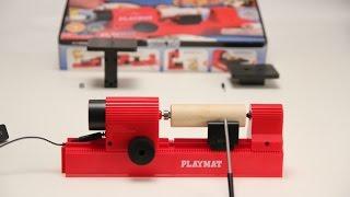 Станок PlayMat - 4 в 1 - лобзик, шлифовка, токарный и сверлильный