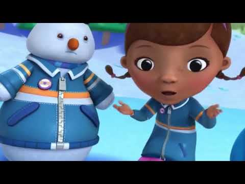 Doc McStuffins S2E4 Toy Hospital Chilly's Snow Globe Shakeup Hoarse Hallie