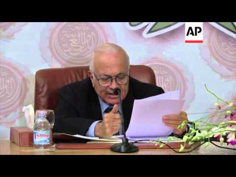 Elaraby says threat of Islamic State group must be confronted