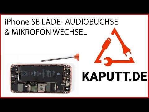iPhone SE Ladebuchse wechseln | kaputt.de
