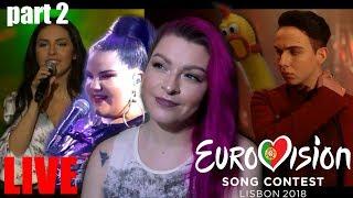 СМОТРИМ ЖИВЫЕ ВЫСТУПЛЕНИЯ | ЧАСТЬ 2 | AISEL, MELOVIN, NETTA, Covers, Eurovision Rehearsals