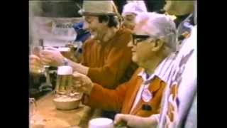 Budweiser Beer Commercial featuring Harry Caray - 1983