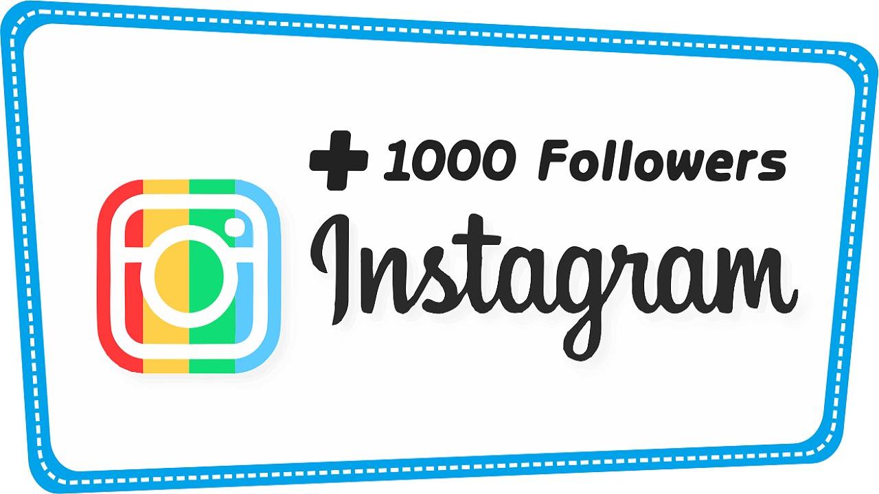 Trik Menambah 1000 Followers Instagram Per Hari Tanpa Harus